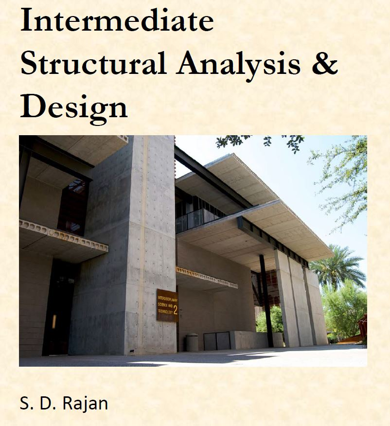 Book cover for Intermediate Structural Analysis & Design