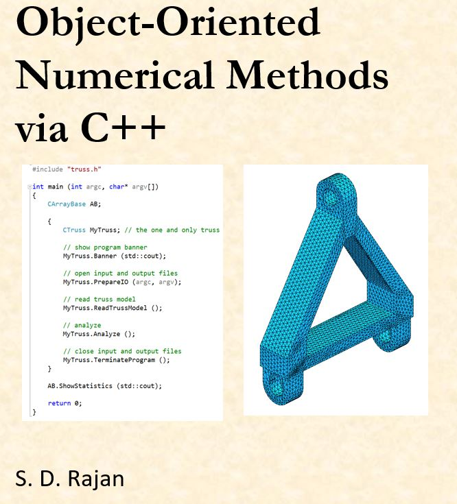 Book cover for Object-Oriented Numerical Methods via C++